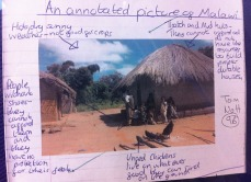 """Learning from Malawi - Outcomes: Student Work 2 """"What is Malawi like?"""""""