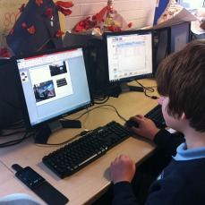Step 3 - Creating the picture cards: We used ICT and digital copies of the photos to create each picture/activity card