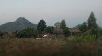 Dedza mountain at dusk
