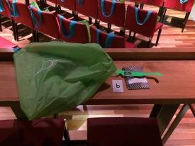 Goody bag for the attending teachers.