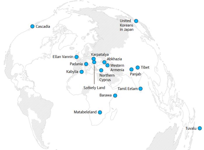 Conifa-map