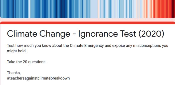 climateignorancequiz